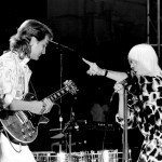 Billy with Edgar Winter